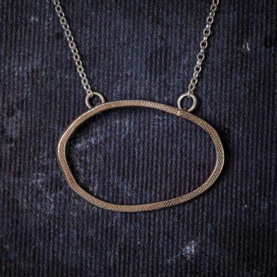 Drift Pendent-Gold